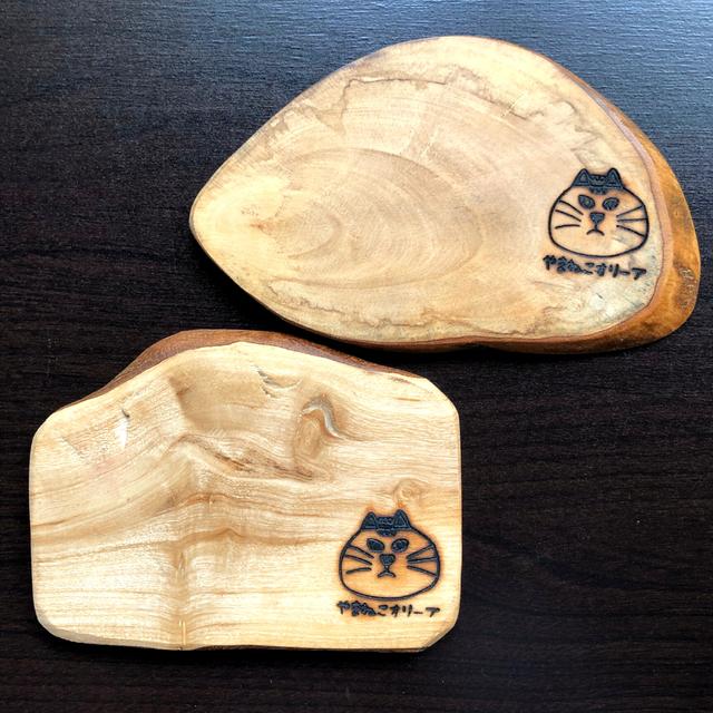 オリーブの木のコースター【大】