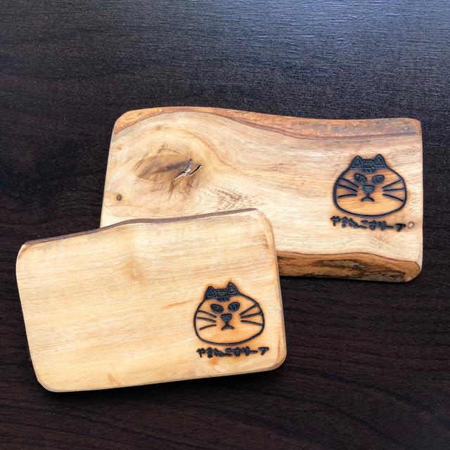 オリーブの木のコースター【四角型】